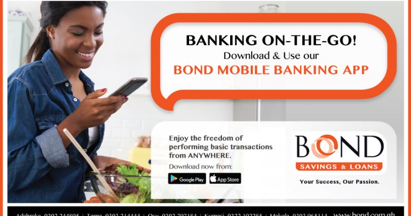 INTRODUCING THE BOND MOBILE APP